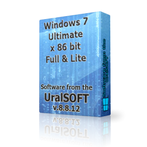 Windows 7 x86 Ultimate UralSOFT Full & Lite v.8.8.12 (2012) Русский