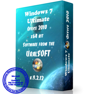 Windows 7 x64 Ultimate UralSOFT v.9.2.12 (2012) Русский