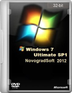 Windows 7 Ultimate SP1 NovogradSoft (x86) (31.08.2012) Русский