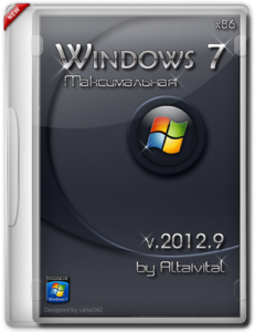 Windows 7 Максимальная SP1 x86 by Altaivital 2012.9 (2012) Русский