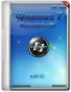 Windows 7 x64-x86 Максимальная KrotySOFT v.09.12 (2012) Русский