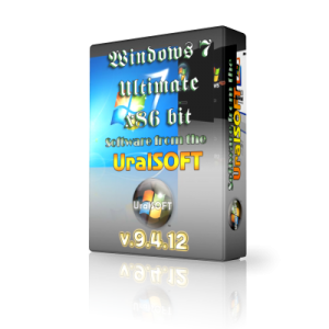 Windows 7 x86 Ultimate UralSOFT v.9.4.12 (2012) Русский