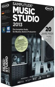Samplitude Music Studio 2013 (2012) Английский