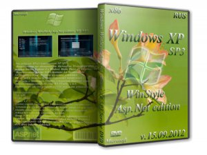 Windows XP SP3 WinStyle Asp.Net edition DVD 2012 (15.09.2012) (2012) Русский