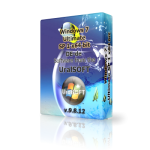 Windows 7 x64 Ultimate UralSOFT v.9.8.12 (2012) Немецкий