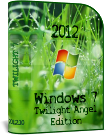 Windows 7 Twilight Angel Edition Professional + Ultimate2012.10 (2012) Русский