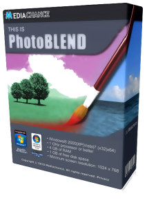 Mediachance Photo BLEND 3D v1.5 Final + Portable (2012) Русский + Английский