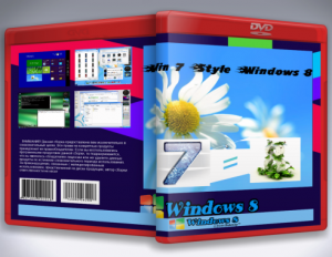 Windows 7 x64 Style Win 8 v.0.10.10 by Bykmop (2012) Русский (BY WT.net)