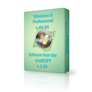 Windows 8 x64 Professional UralSOFT v.1.04 (2012) Русский