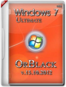 Windows 7 Ultimate x86 OrBlack v.15.10.2012 (2012) Русский