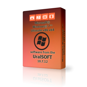 Windows 7 (x86/x64) Ultimate UralSOFT v.10.7.12 (2012) Русский