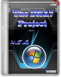 Windows 7 The DNA7 Project SP1 Nismo v.1.6 (x86) (2012) Русский