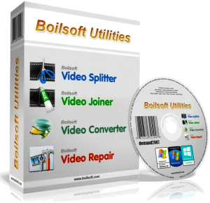 Boilsoft Utilities (Video Converter 3.02, Video Splitter 7.01, Video Joiner 7.01, Repair Video Master 2.61) RePack by elchupakabra (2012)