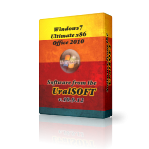 Windows 7 x86 Ultimate UralSOFT v.10.9.12 (2012) Русский