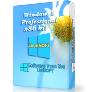 Windows 8 x86 Professional UralSOFT v.1.05 (2012) Русский