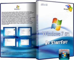 Windows 7 SP1 DVD - v30.004.12 StartSOFT (2012) Русский