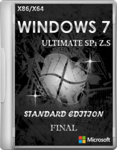 Windows 7 Ultimate SP1 Z.S Standard Edition Final (2012) Русский