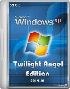 Windows XP Twilight Angel Edition (10.2012) (2012) Русский