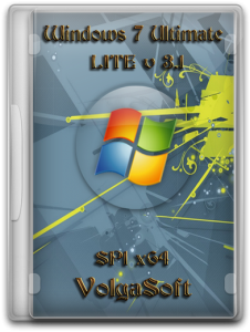 Windows 7 Ultimate SP1 x64 VolgaSoft LITE (v 3.1) (2012) Русский