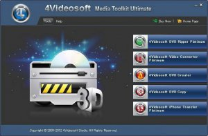 4Videosoft Media Toolkit Ultimate v5.0.30.9310 RePack + Portable (2012) Русский присутствует