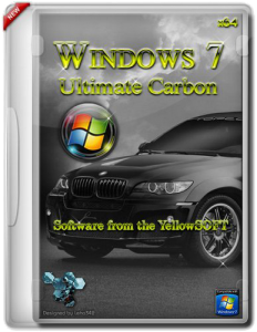 Windows 7 Ultimate Carbon by YelloSOFT (SP1 Carbon) (x64) (2012) Русский