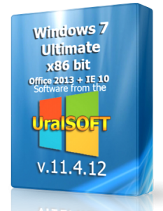 Windows 7 x86 Ultimate UralSOFT & Office 2013 v.11.04.12 (2012) Русский