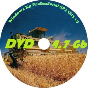 Windows Xp Professional SP3 City v9 x86 (2012) Русский