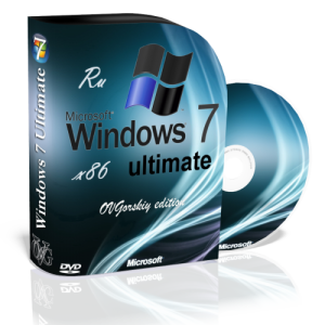Windows 7 Ultimate Ru x86 SP1 7DB by OVGorskiy® 11.2012 (2012) Русский