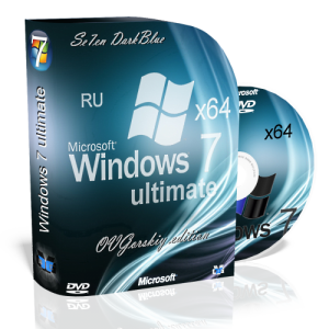 Microsoft Windows 7 Ultimate Ru x64 SP1 7DB by OVGorskiy® 11.2012 (2012) Русский