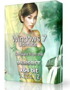 Windows 7 x64 Ultimate UralSOFT Full & Lite v.12.1.12 (2012) Русский