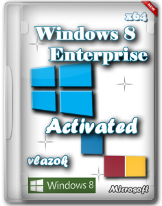 Windows 8 Enterprise x64 Activated by Vlazok (2012) Русский