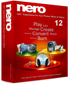 Nero 12 v12.0.02900 RePack by MKN (2012) Русский + Английский