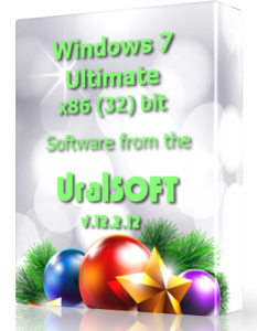 Windows 7 x86 Ultimate UralSOFT v.12.2.12 (2012) Русский