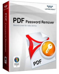 Wondershare PDF Password Remover v1.5.1 Final + Portable (2012) Русский + Английский