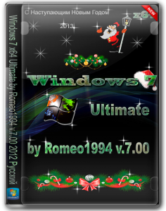 Windows 7 (x64) Ultimate by Romeo1994 v.7.00 (2012) Русский