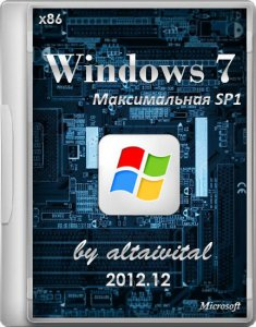 Windows 7 x86 ������������ SP1 by altaivital 2012.12 (2012) �������