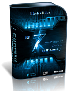 Windows 7 Ultimate SP1 Black by OVGorskiy® 12.12 (64bit) (2012) Русский