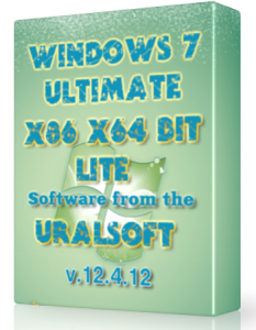 Windows 7 x86x64 Ultimate UralSOFT Lite v.12.4.12 (2012) �������