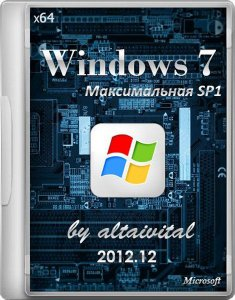Windows 7 x 64 Максимальная SP1 by altaivital 2012.12 (2012) Русский