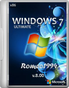 Windows 7 (x86) Ultimate by Romeo1994 v.8.00 (2012) Русский
