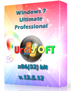 Windows 7 x86 Ultimate и Professional UralSOFT v.12.5.12 (2012) Русский