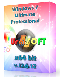Windows 7 x64 Ultimate и Professional UralSOFT v.12.6.12 (2012) Русский