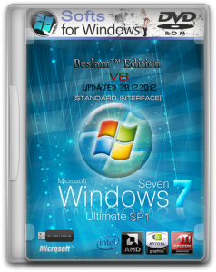 Windows 7 Ultimate SP1 Updated (x86/x64) Beslam™ Edition 2DVD v.8 (2012) Русский