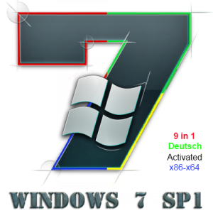 Windows 7 SP1 9in1 Deutsch x86x64 by Tonkopey 23.12.2012 (2012) Немецкий