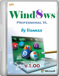 Windows 8 Professional VL x64 by Vannza v1 (2012) Русский