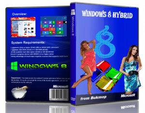 Windows 8 Hybrid [2in1] [x86-x64] by Bukmop (2012) Русский
