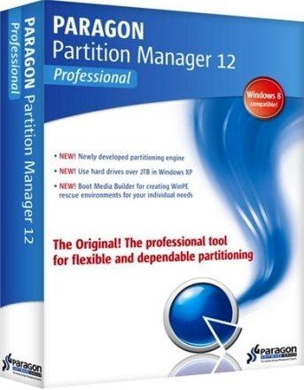 Paragon partition manager 12 professional 10. 1. 19 build 16240.