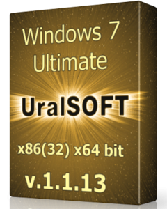 Windows 7 (x86/x64) Ultimate UralSOFT v.1.1.13 (2013) Русский