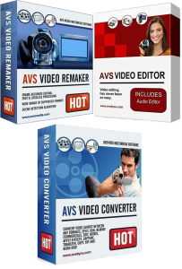 AVS Video Editor v6.3.1.231 Final / Portable / RePack + AVS Video ReMaker v4.1.2.147 Final / Portable + AVS Video Converter 8.3.1.530 Final / Portable