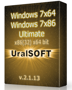 Windows 7 (x86/x64) Ultimate UralSOFT v.2.1.13 (2013) Русский